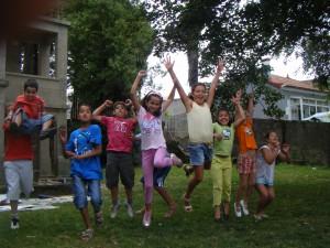 Campamento de verán na Asociación Veciñal de Teis